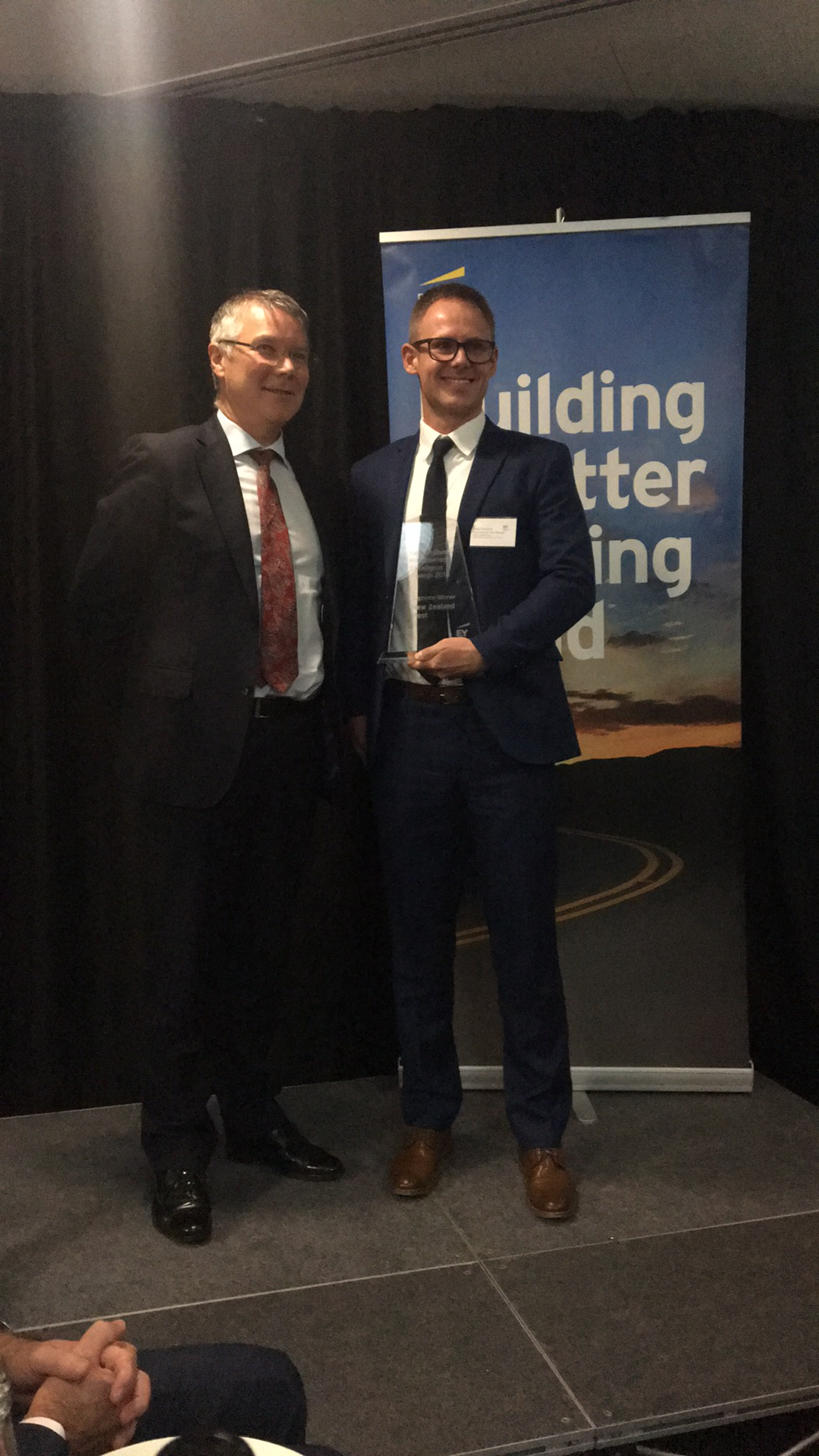 NZ Post scoops two sustainability awards!